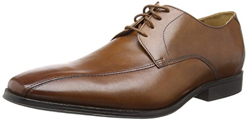 Clarks Herren Gilman Mode Derbys, Braun (Dark Tan Leather), 42 EU