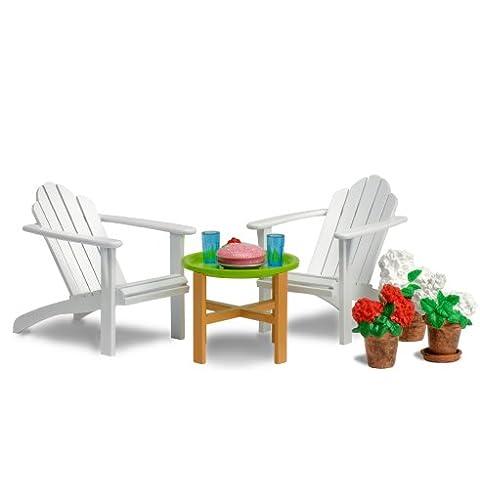 Lundby 60.3044.00 Småland - Muebles de jardín para casita de muñecas