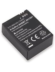 Ansmann A-GoPro AHDBT 201/301 Batterie pour Appareil photo Noir