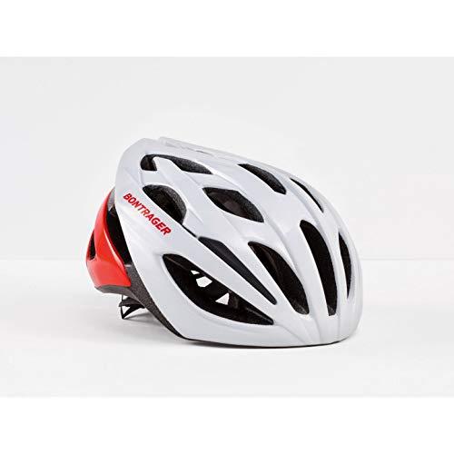 Bontrager Starvos Rennrad Fahrrad Helm weiß/rot 2019: Größe: S (51-57cm)