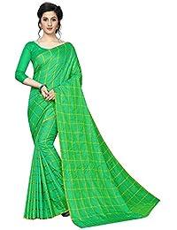 b5dbdbeea68 Saree For Women Party Wear Green Sana Silk Saree cotton sarees new  collection Half Sarees Offer Designer Below…