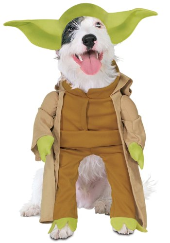 Yoda Dog Fancy dress costume Medium