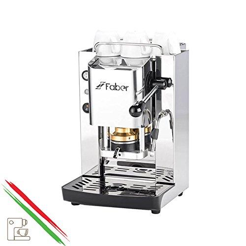 Kaffeemaschine Faber Slot Pro Total Edelstahl mit Rahmen komplett aus Edelstahl AISI 410–Plan...