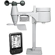 La Crosse Technology WS1650 Station Météo Professionnelle avec capteur 5 en 1 - Noir