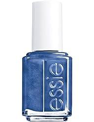essie Nagellack Metallic Blau aruba blue Nr. 92 / Ultra deckender Farblack in Dunkelblau mit Metallglanz 1 x 13,5 ml