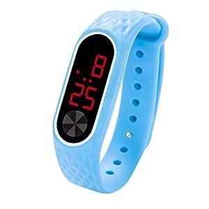 Dtuta Mode Fitness Tracker Unisex Kinder Smartwatch Fitness Armband mit Schrittzähler Wasserdicht Sportuhr Fitness Uhr für Herren und Damen Armbanduhr