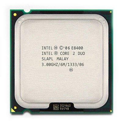 INTEL Core2Duo E8400 3000MHz LGA775 6MB FSB1333 ATX DT Tray CPU - Prozessor Duo Lga775 2 Intel Core