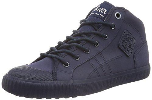 s.Oliver Herren 15222 High-Top Blau (NAVY 805)
