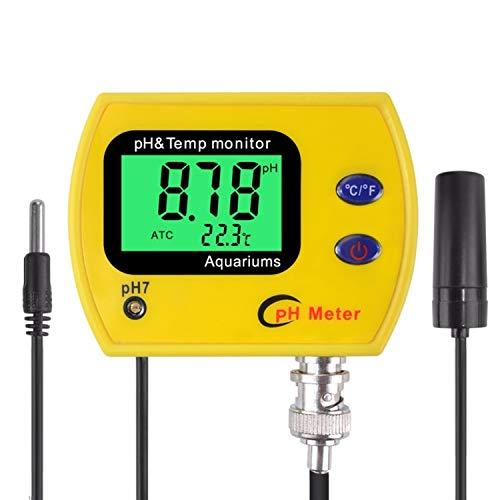 Medidor de pH con el contraluz PH-991 Tester de temperatura durable herramienta acidimeter monitor for...