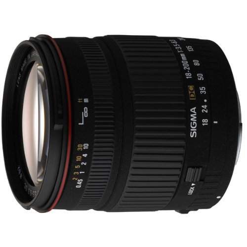 Sigma 18-200mm f/3.5-6.3 Lens for Sony Digital SLR Camera  available at amazon for Rs.34289