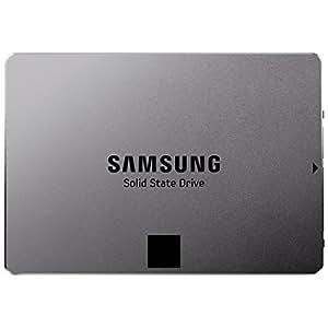 Samsung MZ-7TE500BW Serie 840 EVO Basic interne SSD-Festplatte (6,3 cm (2,5 Zoll) (500GB, 512MB Cache, SATA III) metallic silber