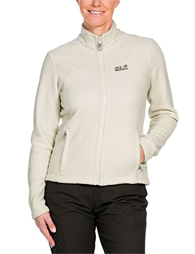 Jack Wolfskin, Giacca in pile Donna Moonrise Beige (White Sand)
