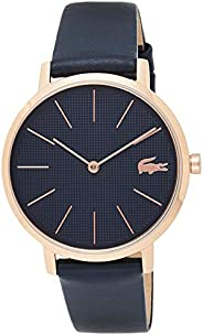 Lacoste Womens Quartz Watch, Analog Display and Leather Strap 2001071