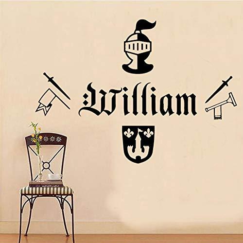 Patrón de arma Soilder Nombre personalizado Etiqueta de la pared para sala de...
