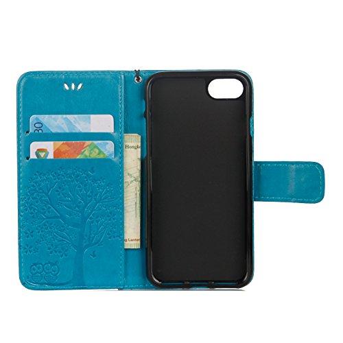 Cover iPhone 6 Plus 6s Plus, Sportfun Custodia Portafoglio In Pelle Con Wallet Case Cover Per iPhone 6 Plus 6s Plus con Porta Carte e Funzione Stand (08) 05