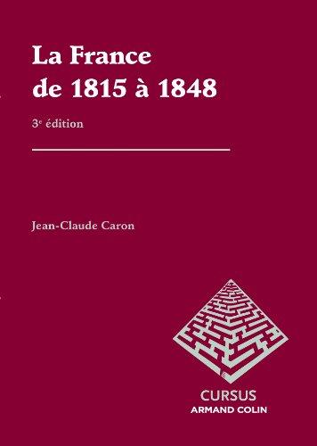 La France de 1815  1848