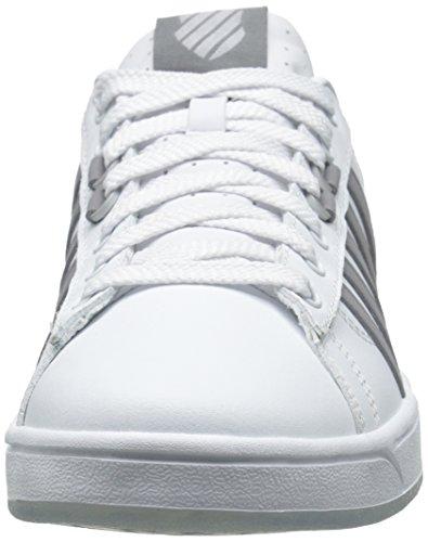 K-Swiss Hoke Cmf Ice, Baskets Basses homme Blanc