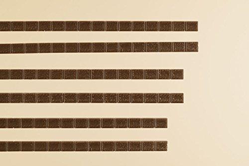 Auhagen 48656.0 - Abschlusssteine, Gesamtlänge 1200 mm, bunt