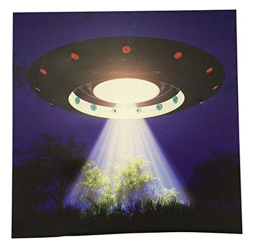 Creative Motion erleuchtet UFO Malerei (Wand Malerei Akzent)