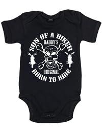 IiE, Son of a Biker Daddy's Original Born to Ride, Baby Boy, Bodysuit