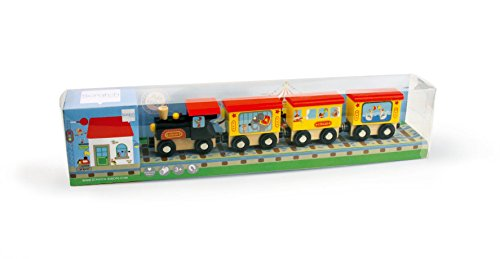 Scratch Rayures 6181060 en Bois Circus Train
