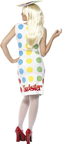 Imagen de smiffy's  disfraz de twister para mujer, talla m 31847m  alternativa