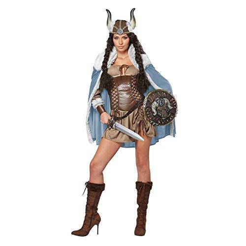 Kostüm Kriegerprinzessin Viking Größe (De Guerriere Kostüm)