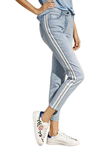 Amy Vermont Damen Jeans mit Seitlichen Streifen 44 by (Amy Jean)