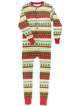 Fuyingda Flapjacks Adultos Que Hacen Juego Pijamas Familiares de Navidad Adultos, Niños y Ropa de Dormir Infantil