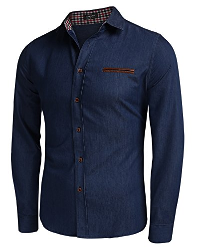 aulei-fashion-herren-hemd-jeans-slim-fit-langarmshirt-in-jeansoptik-denim-t-shirt-kentkragen-himmelb