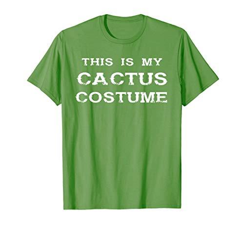 Kaktus Kostüm T-Shirt - Cactus Verkleidung Party Fasching (Kaktus Kostüm Frauen)
