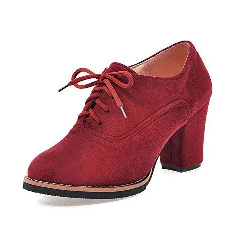 9afab458896 ZODOF Botas Exquisitas Medieval Style para Mujer Ocio Mujer Zapatos Hebilla  de Color Sólido Antideslizante Punta