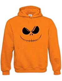 Adulte Unisexe Sweat À Capuche Citrouille d'Halloween 3