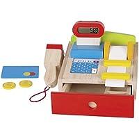 Rosa Spielkasse Registrierkasse Kinder Kasse Kaufladen Spielzeug mit Zubehör JL Kleinkindspielzeug Geräte