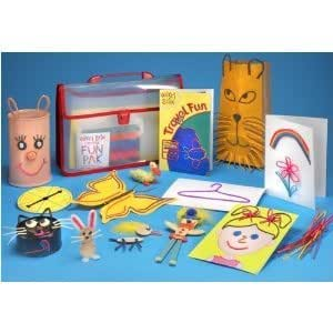 enfant jeu Wikki Stix Tons of Fun - Colorful, non-toxic wax and yarn product for Imagination and creativity jouet joujou