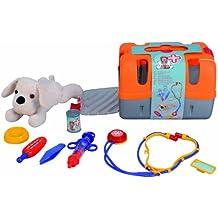 Games & More - Maletín veterinario, color rojo / blanco (Simba 5543060)