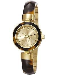 Esprit Damen-Armbanduhr Jody Analog Quarz Edelstahl ES107712002