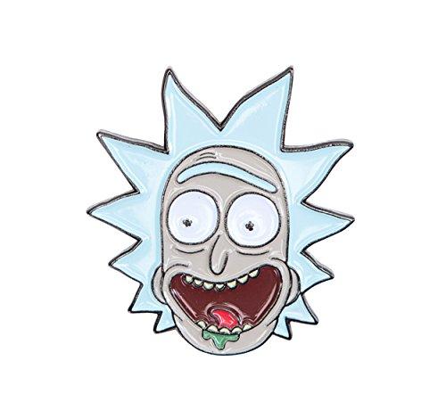 Rick and Morty Enamal Collector Pin: Rick