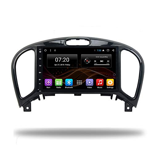 Car DVD Radio GPS Android 8.1 Octa Core Navigation for Nissan Juke Stereo Audio MAP Video with Bluetooth Calling WiFi Touch Screen (Android 8.1 2/32G for Nissan Juke)