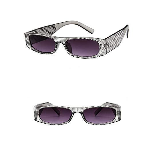 VRTUR Brille Diamond Retro-Brille Für Damen der 1950er Jahre eckige Vintagebrille für Karneval Party Kostüm(One size,C) (Kostüm Für Petticoats Der 1950er Jahre)