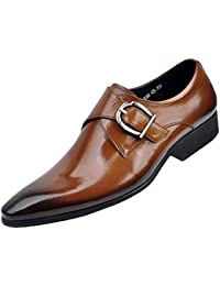 4b9569b047c Hombres Pisos Hombres Zapatos de Cuero clásico Hombres Vestido Zapatos Cuero  Italiano Formal Oxford Zapatos