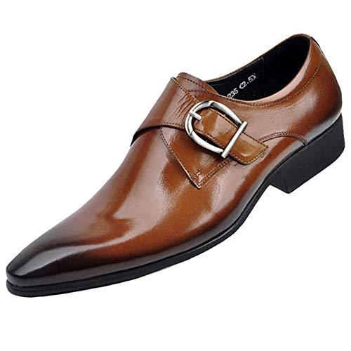 Qianliuk Männer Wohnungen Männer Lederschuhe Klassische Männer Kleid Schuhe Leder Italienische Formale Oxford Schuhe (Schuhe Wohnungen Männer)