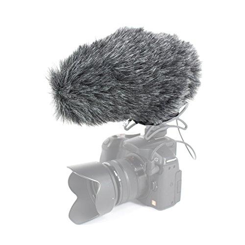 Azden sws-30-Haar für das Mikrofon-Windschutz smx-30, Schwarz