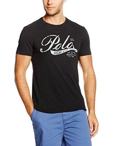 Polo Ralph Lauren, T-Shirt Uomo Schwarz (POLO BLACK A00PB)