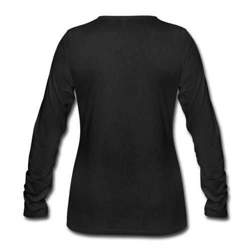 Spreadshirt World Of Warships Croiseur Requin T-Shirt Manches Longues Premium Femme Noir