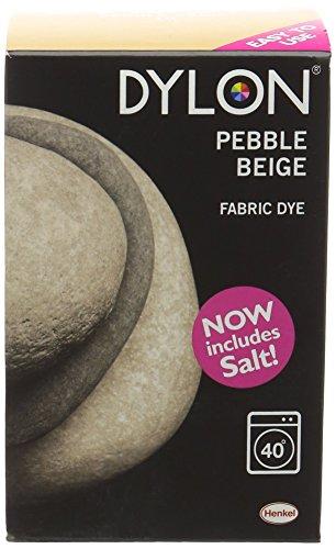 Dylon Machine Dye-Kiesel, Beige, 350 g, mit Salz (Dye Permanent Fabric Dylon)