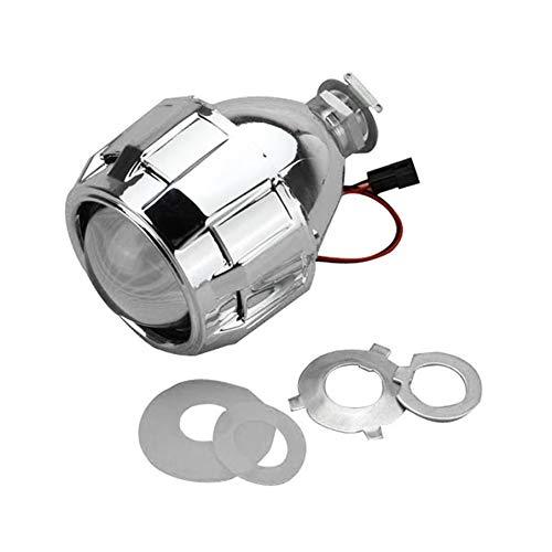 KNOSSOS 3.0-inch H1 H4 H7 Bi-Xenon HID Projector Lens for Headlights Retrofit - Silv