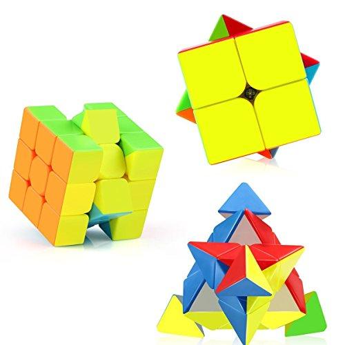 Roxenda Moyu Weilong GTS2 3x3x3 Glatt Magischer Würfel Geschwindigkeits Würfel Puzzles Stickerless (Persönlicher Rekord-spieler)