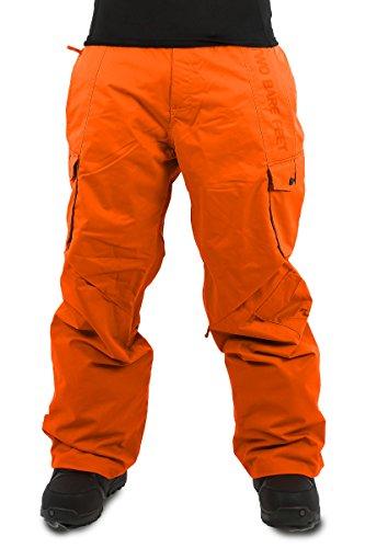 Two Bare Feet da uomo pantaloni da sci snowboard,, Uomo, Blizzard, Cyber Orange, M