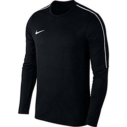 Nike Herren Dry Park 18 Langarmshirt, Schwarz (Black/White), L - Nike Langarm